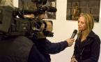 2008 - Intervistata allo IED dalla RAI