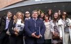 Laureati LUMSA con colleghi Prof